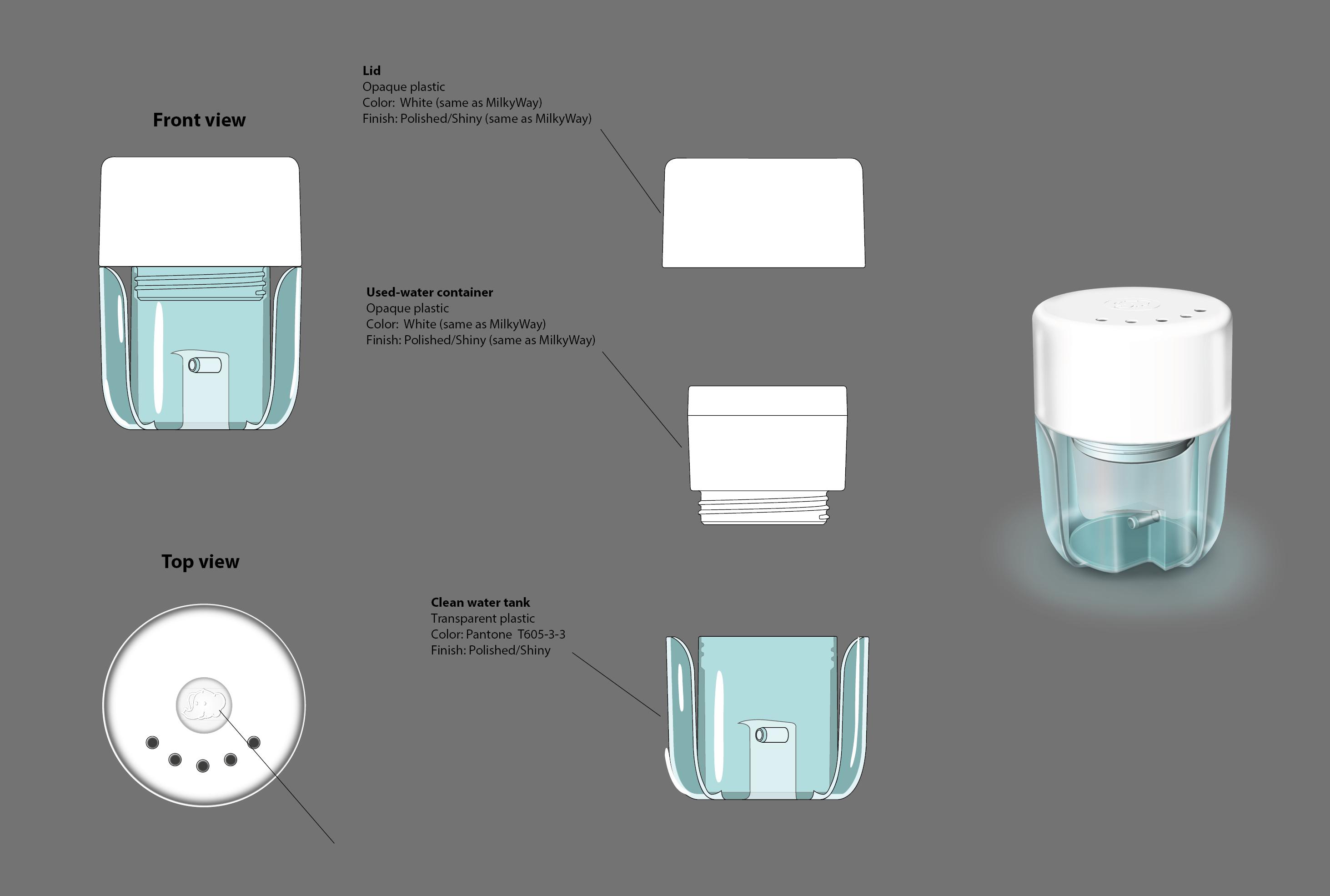 Bébé Confort – Microwave Sterilizer – Design Produit – Coloris – FR