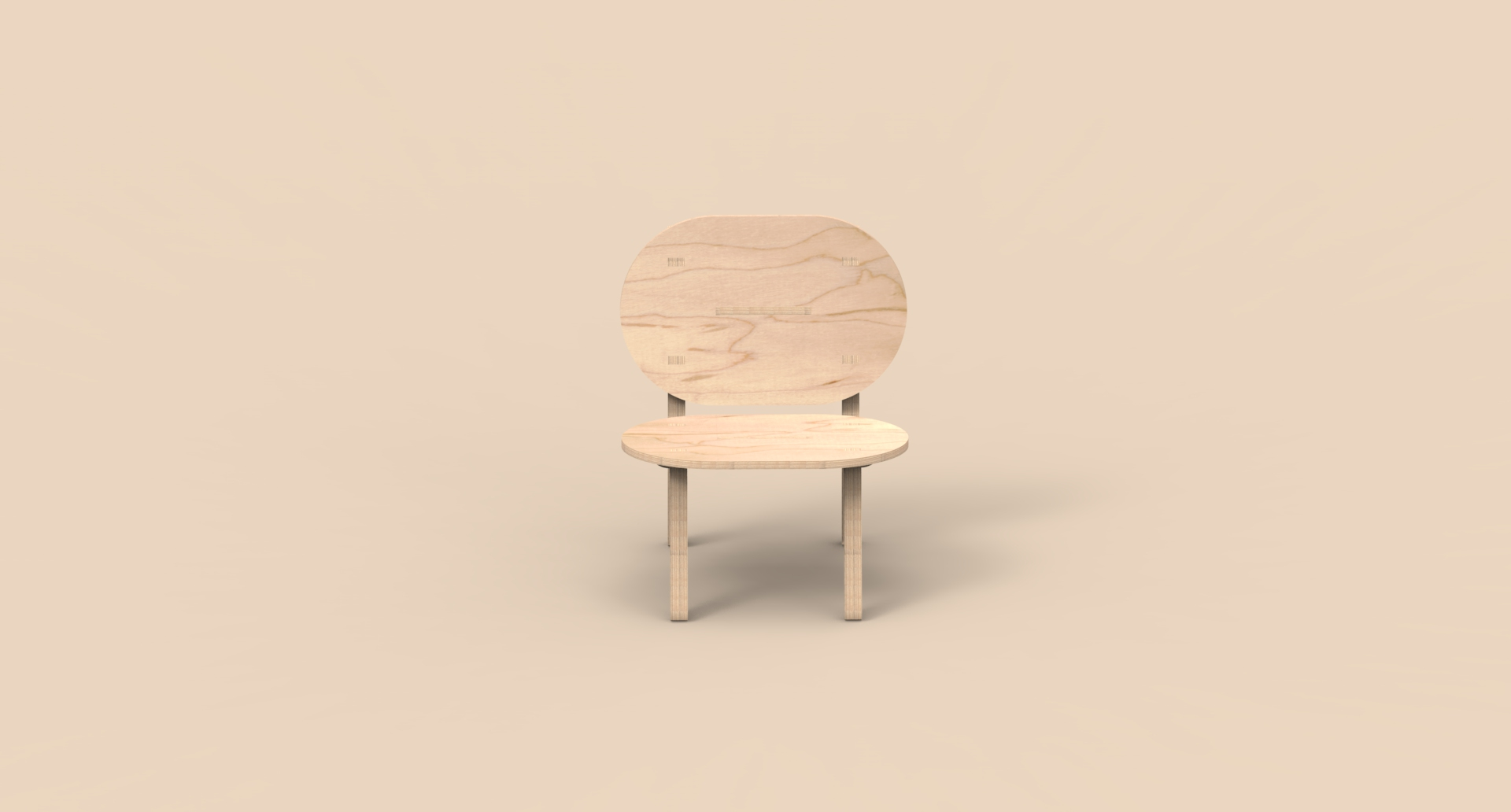 CNC Furniture – Lounge Chair – Animation_01.37