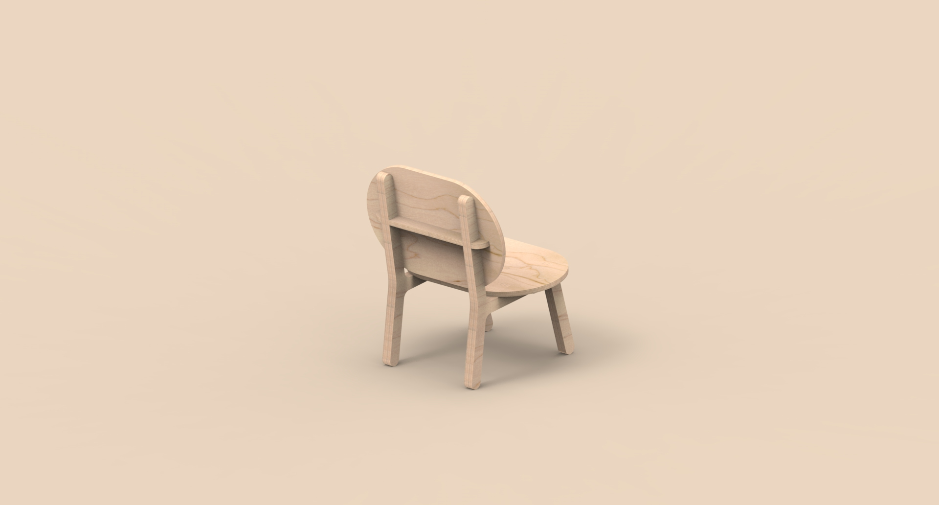 CNC Furniture – Lounge Chair – Animation_01.96