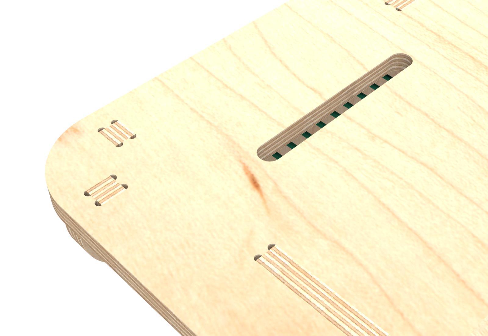 CNCDesk – Design 02 w elastics – Detail 02