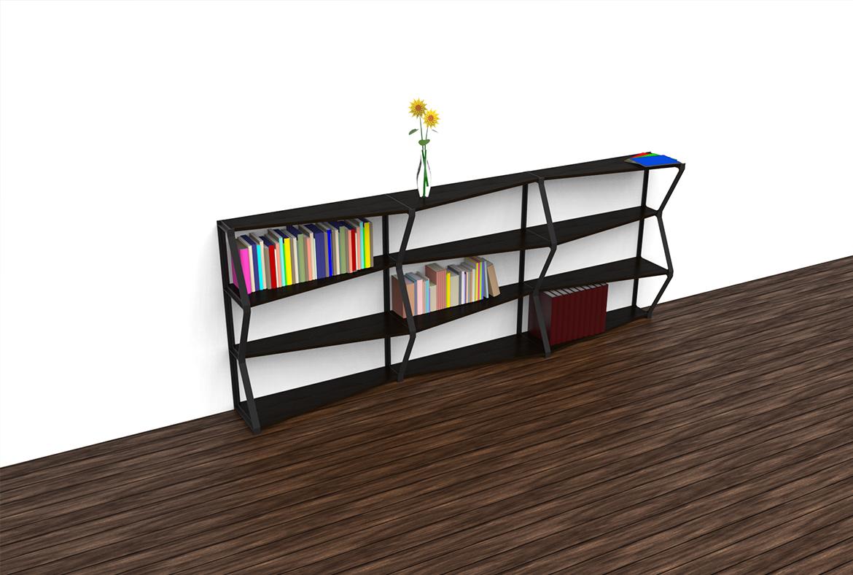Maillols – Design Mobilier – Rangement modulaire – Modélisation 3D – 04 – FR