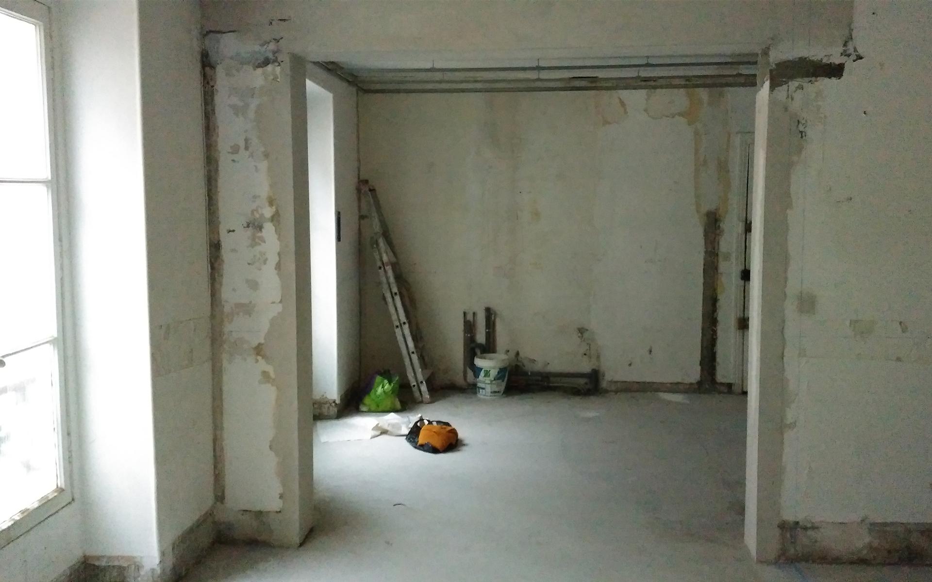 Simon Caradec – Appartement Rue du Commerce – Travaux_04