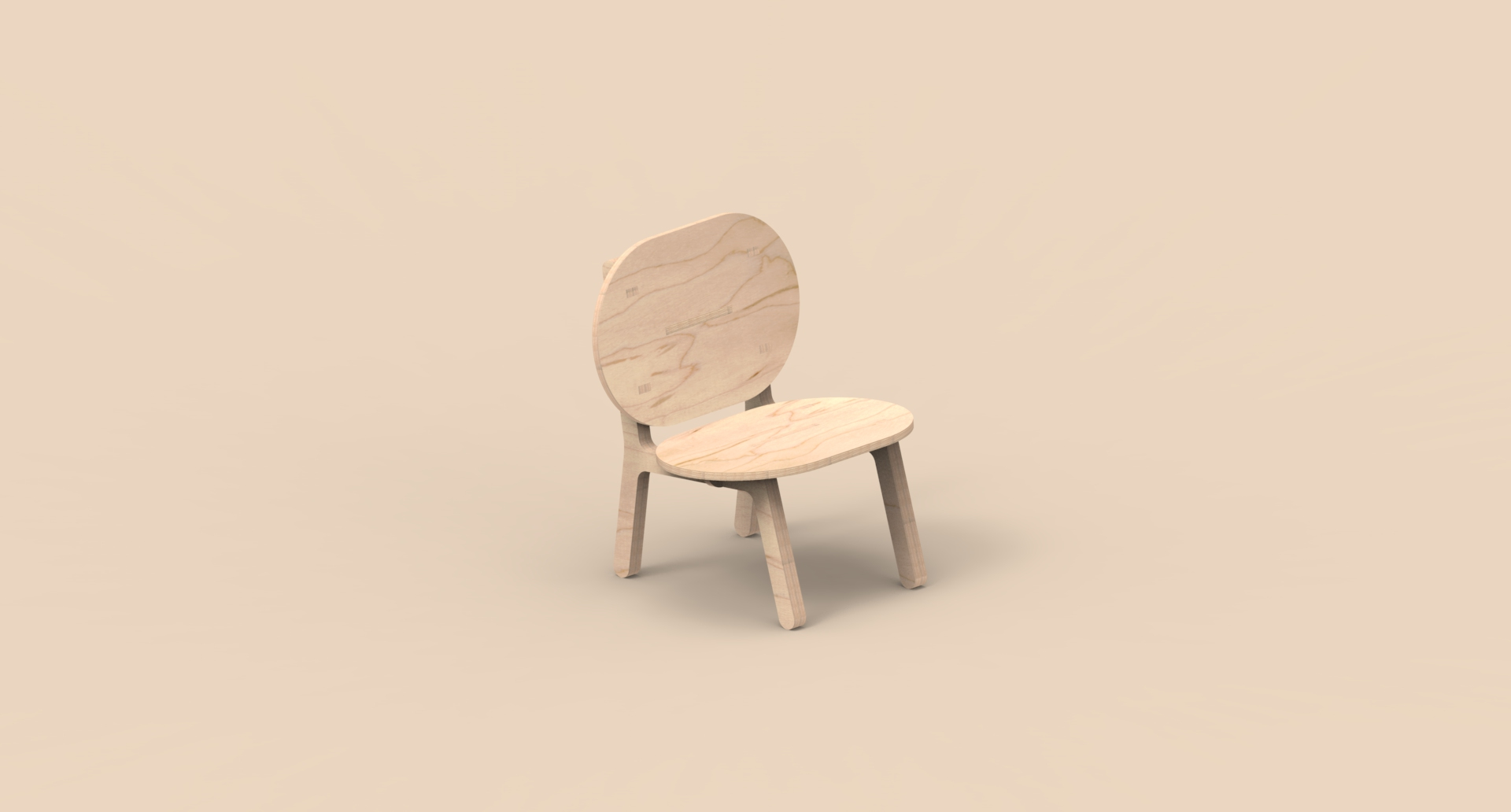 CNC Furniture – Lounge Chair – Animation_01.140