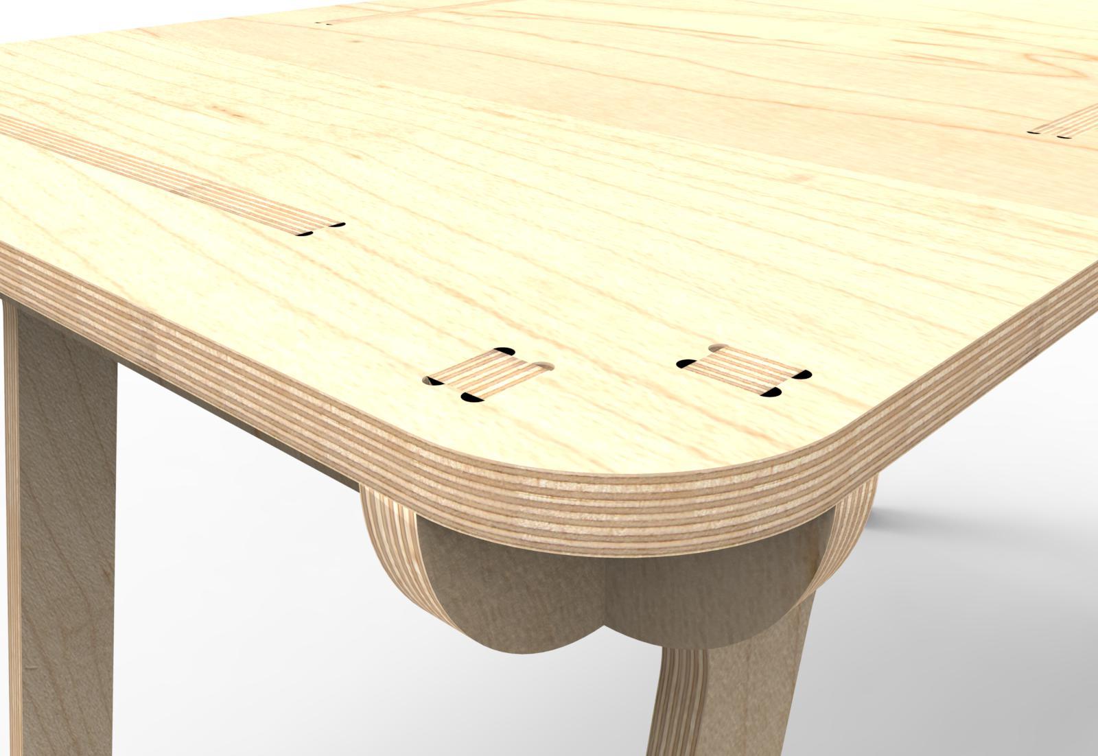 CNCDesk – Design 02 – Detail