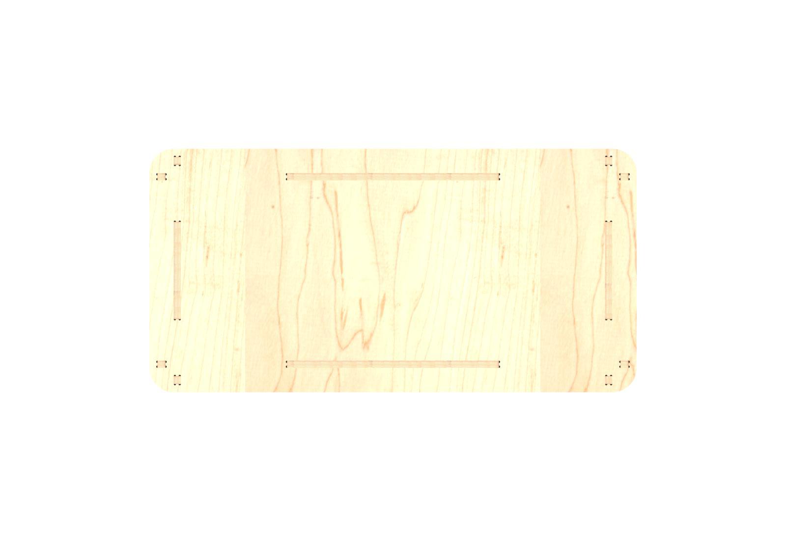 CNCDesk – Design 02 – Top
