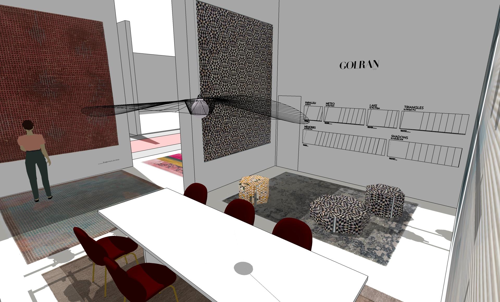 Golran Stand Maison et Objet 2017 – Scenography – Stand Design – 3D – 04