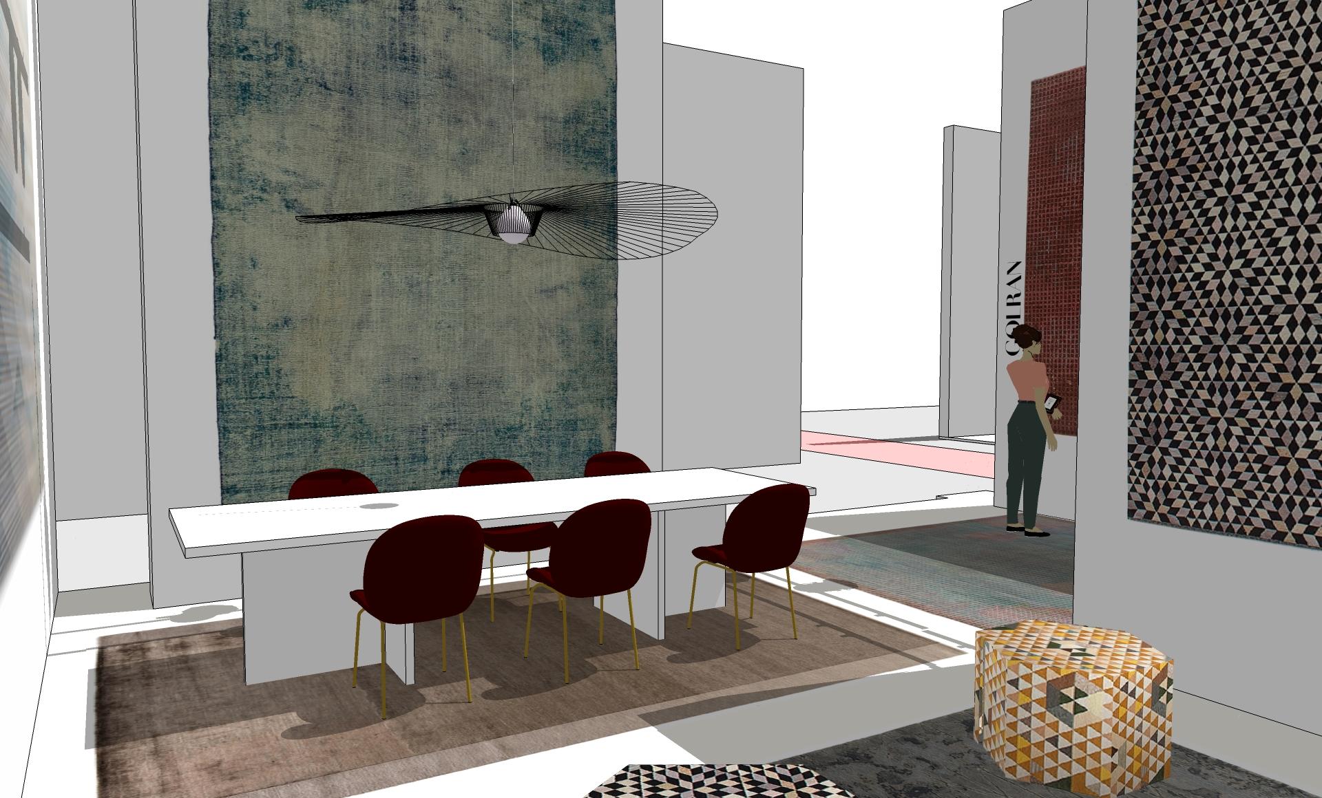 Golran Stand Maison et Objet 2017 – Scenography – Stand Design – 3D – 05