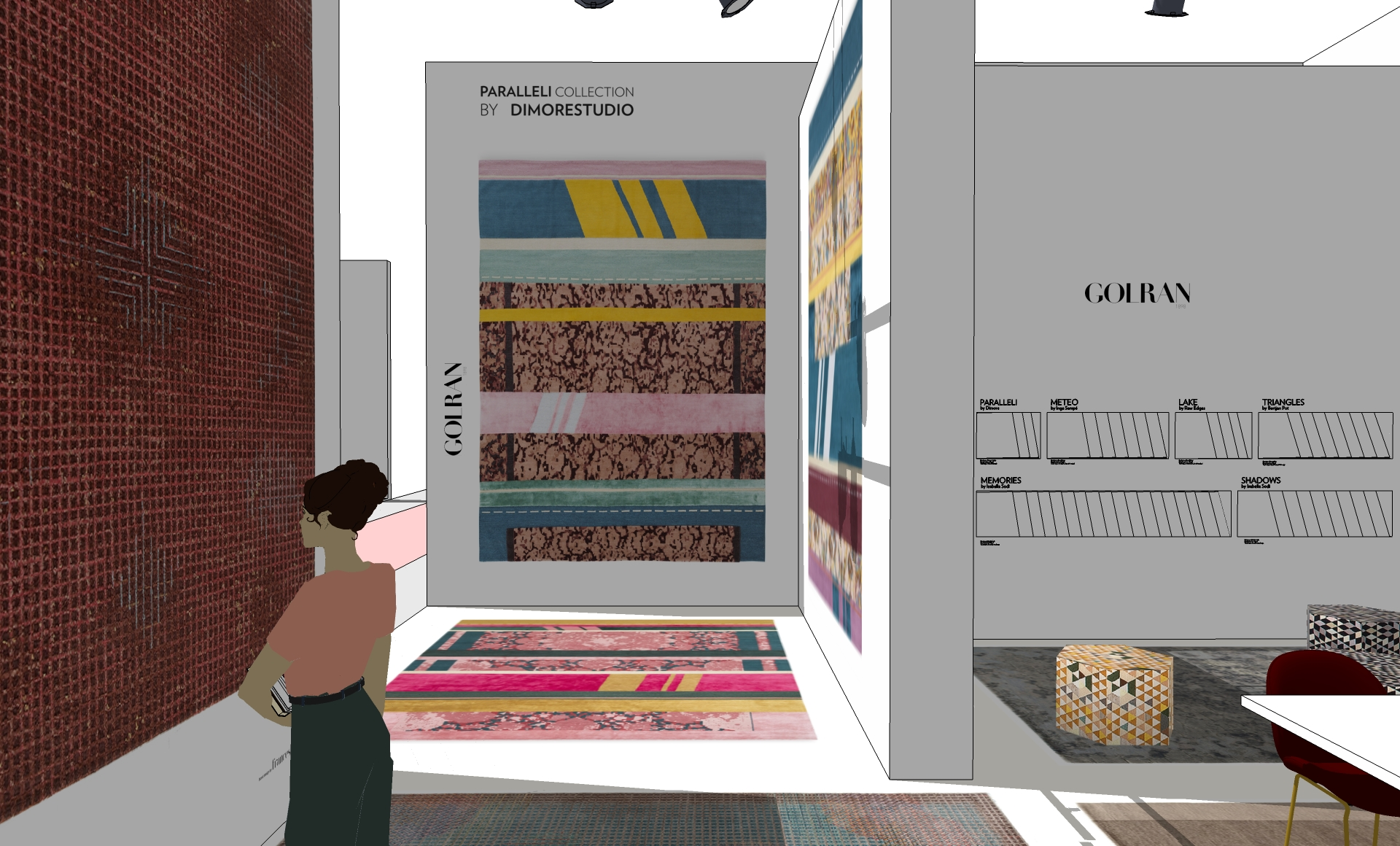 Golran Stand Maison et Objet 2017 – Scenography – Stand Design – 3D – 07