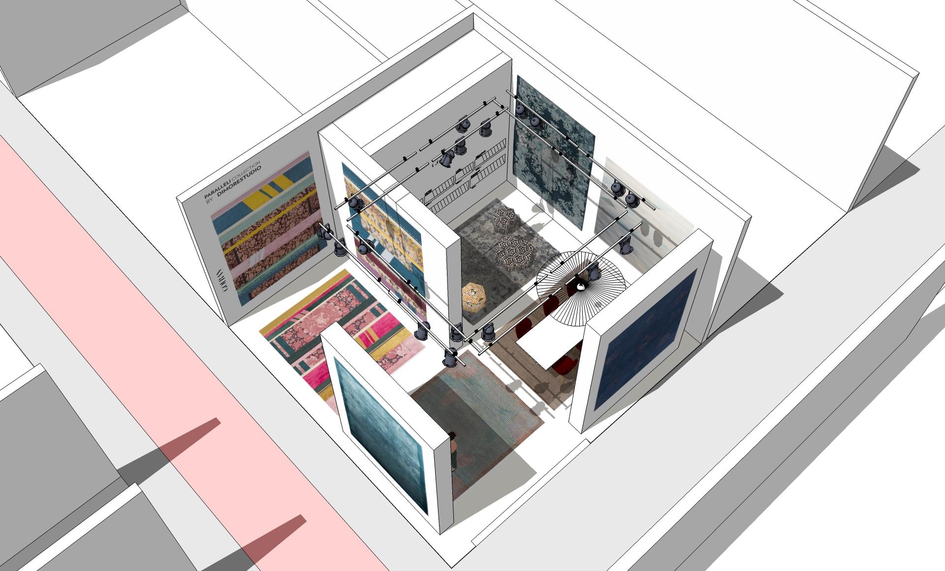 Golran Stand Maison et Objet 2017 – Scenography – Stand Design – 3D – 08
