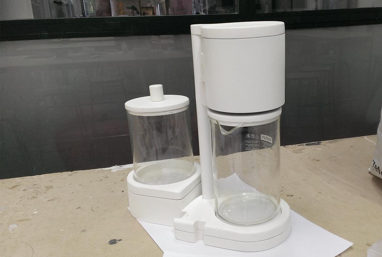 MoCo – Machine à Café réparable – Design Produit -Maquette mousse – FR