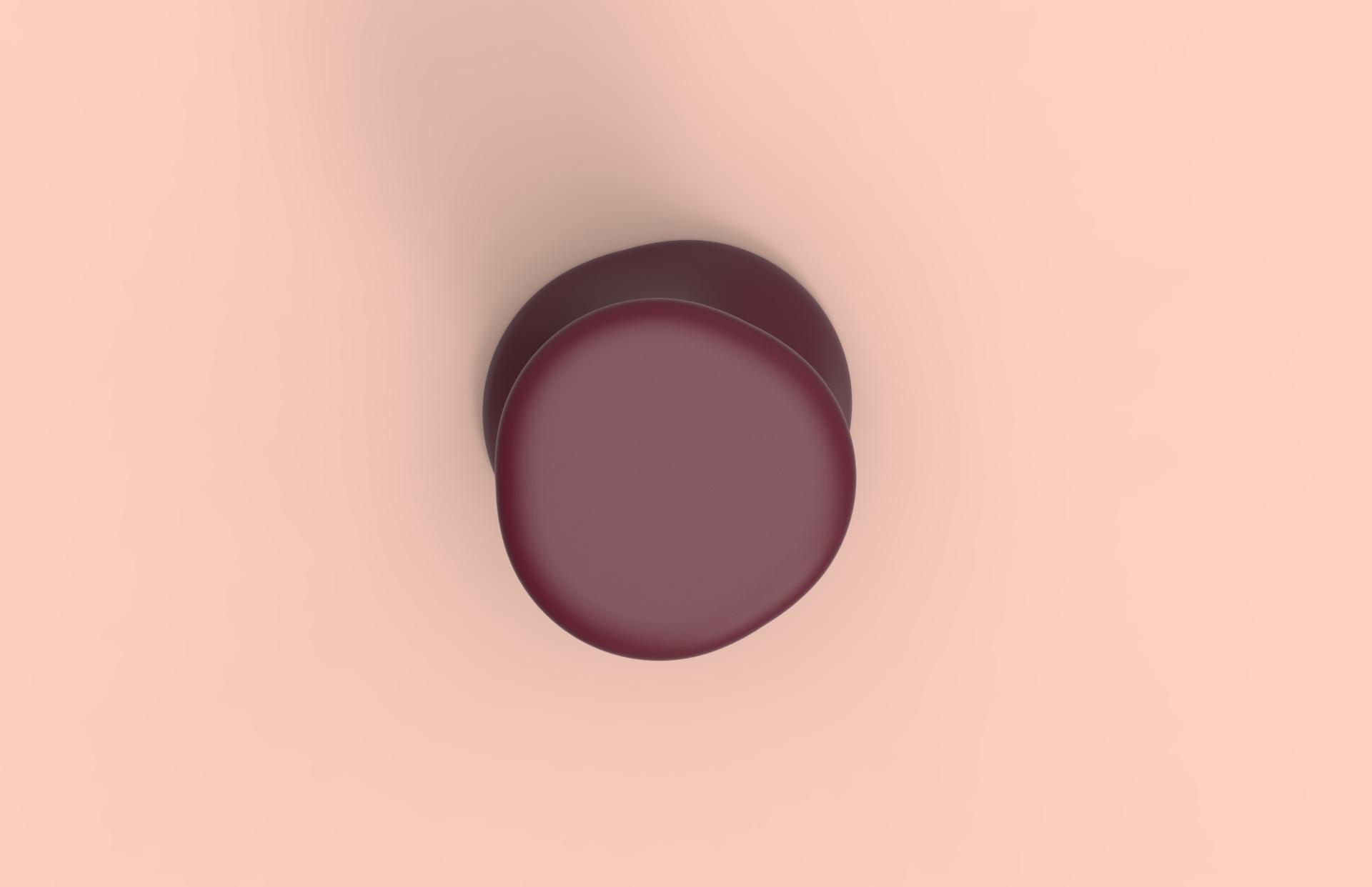 SKINEAL – Tabouret – Modélisation 3D Dessus – FR