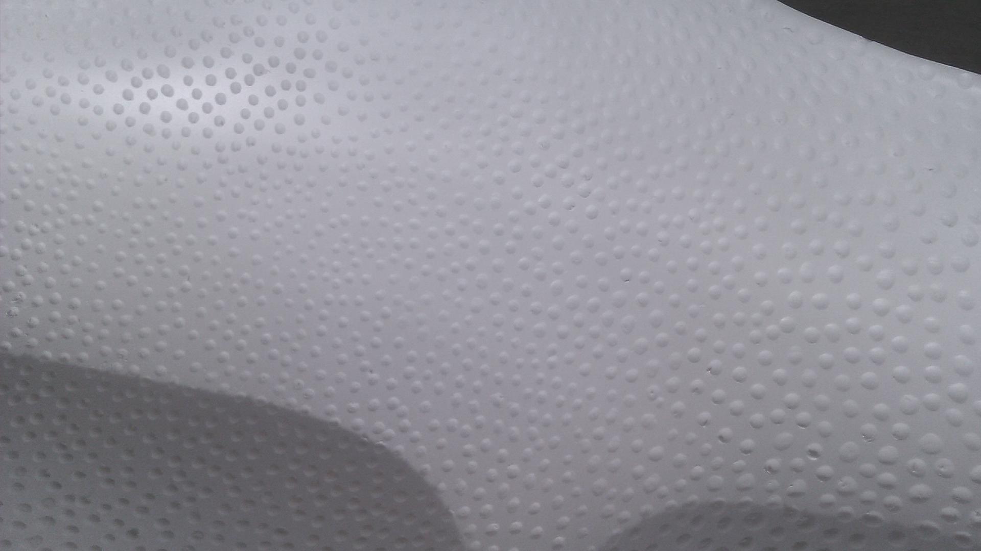 Simon Caradec – White Manta – Detail