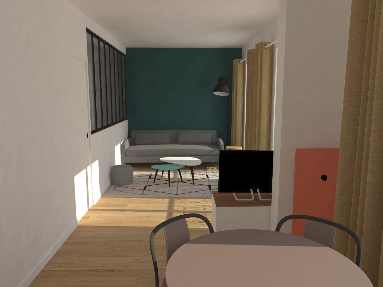Simon Caradec – Appartement Rue du Commerce – 3D_02