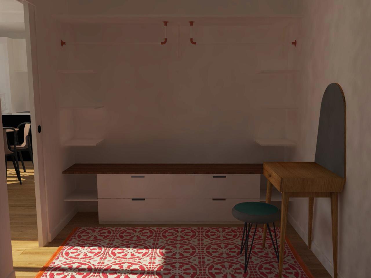 Simon Caradec – Appartement Rue du Commerce – 3D_04