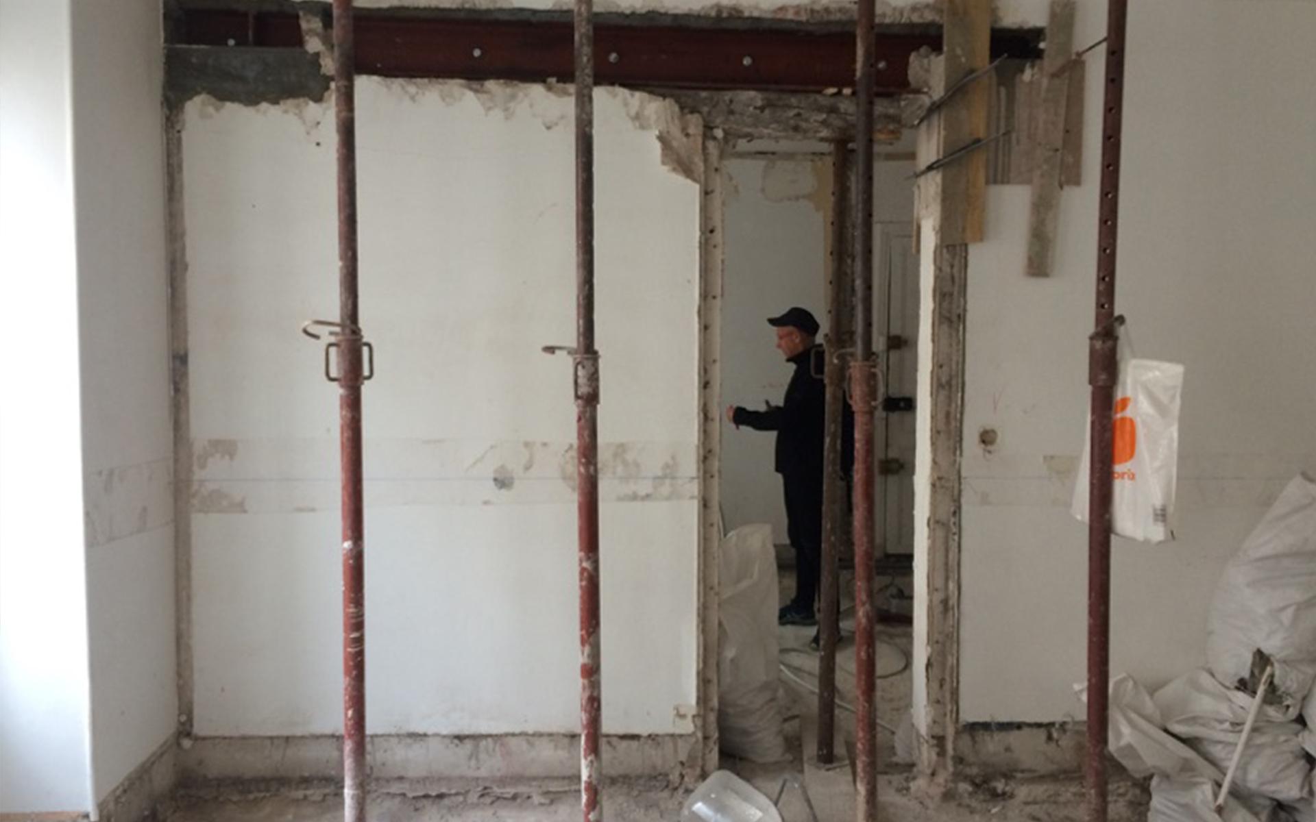 Simon Caradec – Appartement Rue du Commerce – Travaux_02